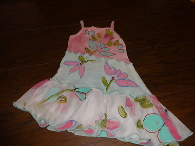 Free Shipping S-1218Y Yellow Fruit Sundress w//Bow Ready to Ship from Ohio