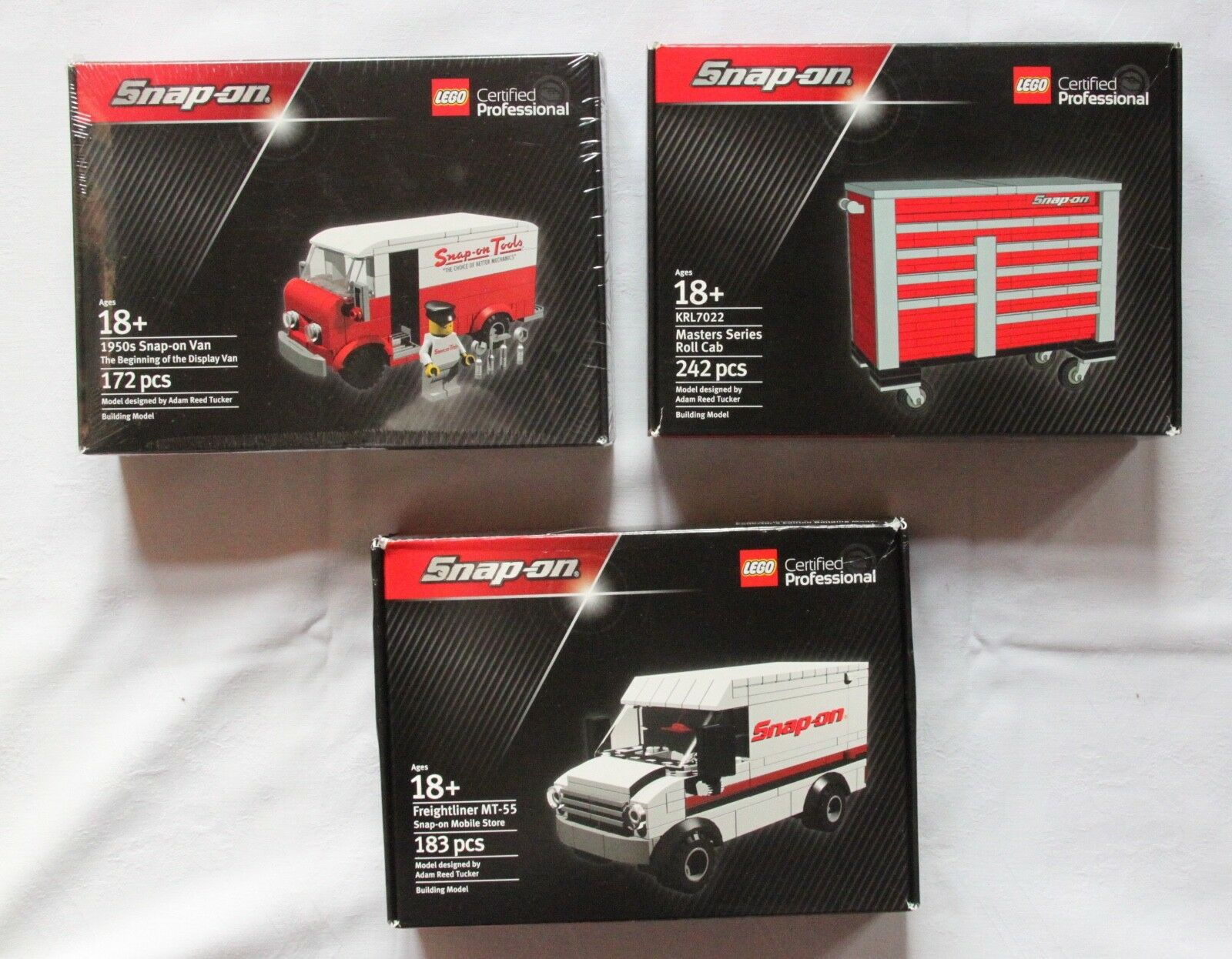 Lego Snap On 3 ateur Certified Professional Limited Edition