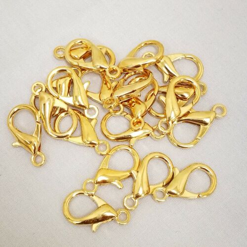 20x Lobster Clasp Parrot Clip Jewellery Findings Toggle Hook