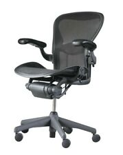Herman Miller Aeron Chair Fully Loaded Size B With Lumbar Support