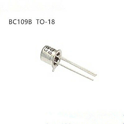 5pcs BC109B BC109 TO-18 NPN Small Signal Transisto CAN3