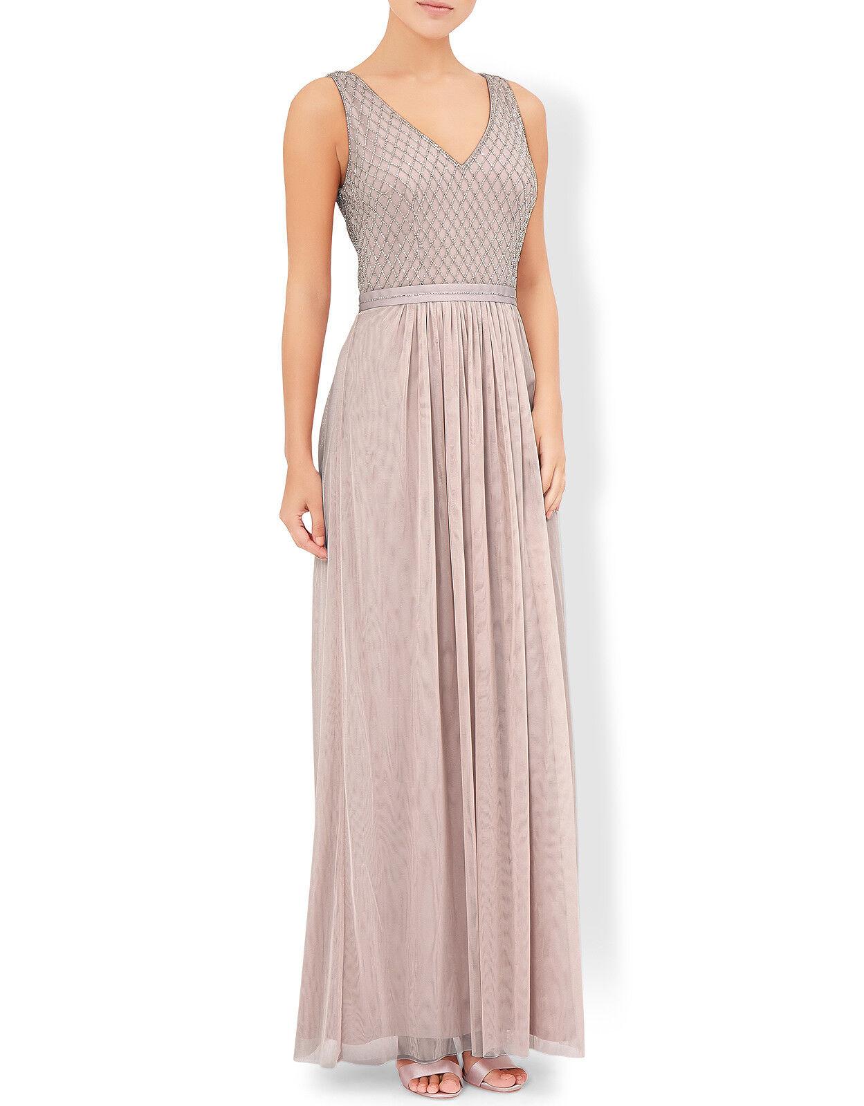 BNWT  Rosa MONSOON EMMI MAXI DRESS Größe  10  RRP