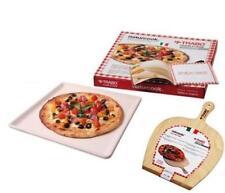 TRABO NATURCOOK PIETRA + PALA FORNO PIASTRA REFRATTARIA TEGLIA PIZZA