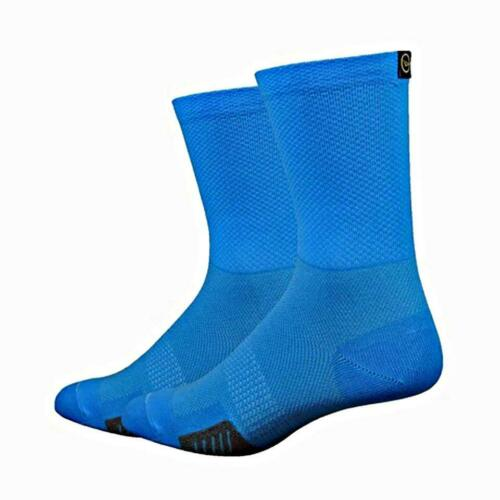 DeFeet Cyclismo w//DeFeet Tab Cycling Running Socks Blue