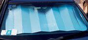 127023 SCHERMO PARASOLE REFLEX Van Super Riflettente - Rosso