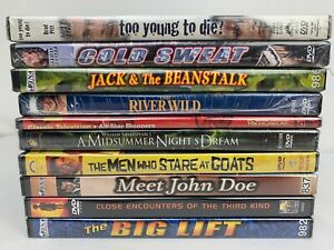DVD-Rom-Lot-Of-10-Movies-Sealed-NEW-Brad-Pitt-Clooney-Action-Drama-Adventure