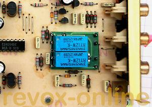 Relay-Relais-NF4-EB-AZ7-4C-Ersatz-24V-fuer-Revox-B226-E-1-769-420-422-1-Stueck