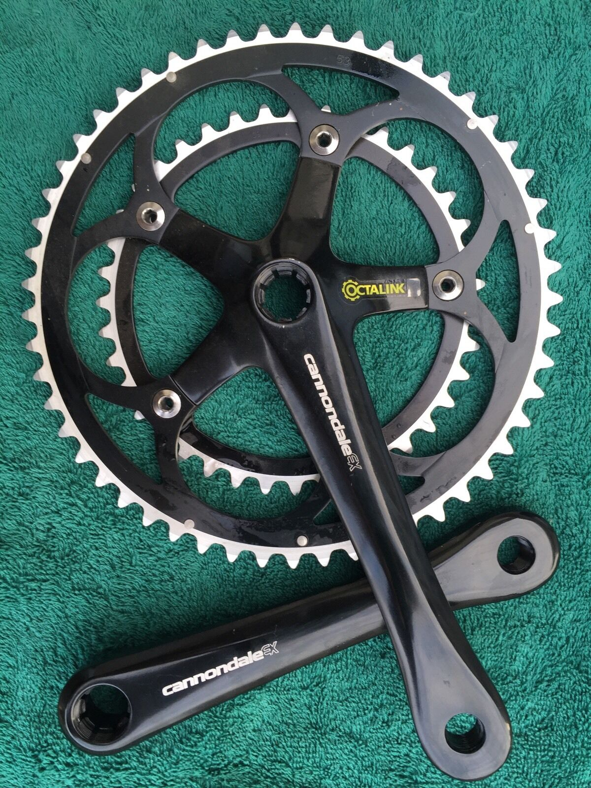 Cannondale  EX Crank SET NEW gleaming, with original rings Full forged SUGINO  cheap designer brands