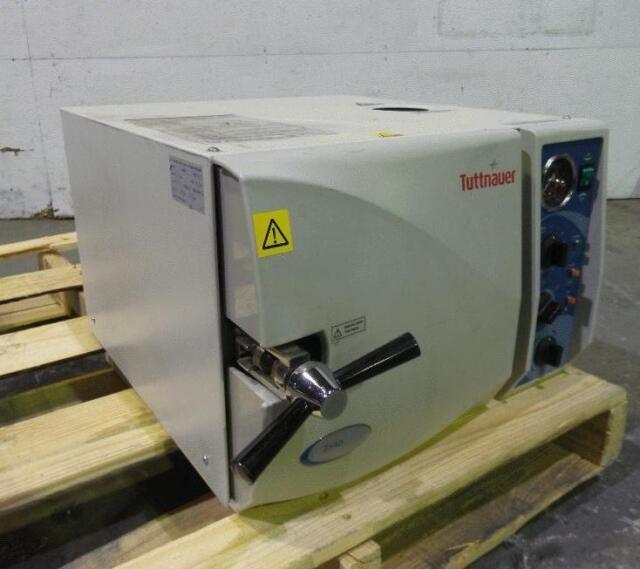 Tuttnauer 2540 Steam Autoclave Instrument Sterilizer Tattoo Dental