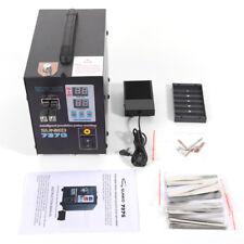 Small Hand Held Sunkko 737g Battery Spot Welder With Pulse Ampcurrent Display Welder
