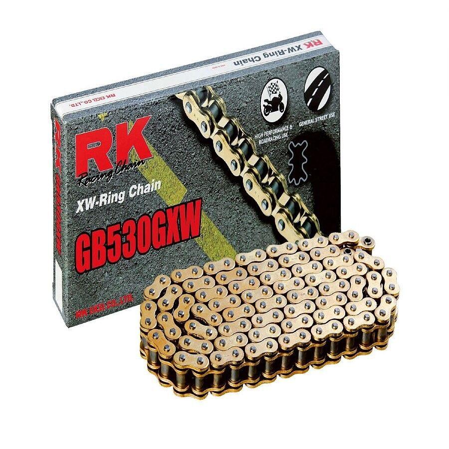 RK GB530GXW GB530GXW GB530GXW Motorrad Xw-Ring Hochleistung Kette Gold 3ca657