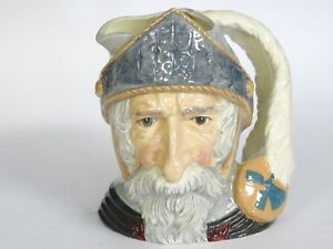 LARGE-8-034-ROYAL-DOULTON-DON-QUIXOTE-D-6460-COPR-1956-TOBY-MUG-Rd-No-333-56