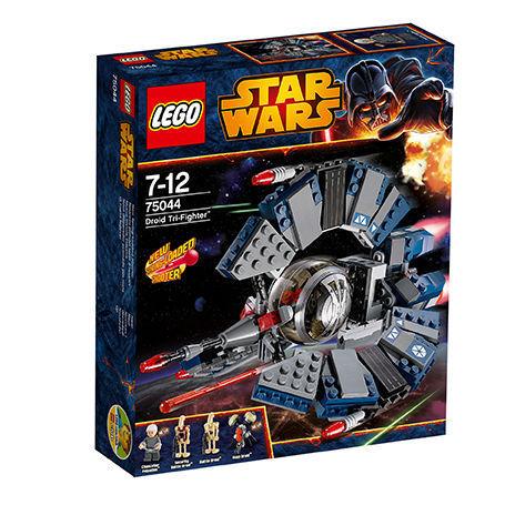 LEGO StarWars Droid Tri-fighter Tri-fighter Tri-fighter (75044) Verpackung beschädigt c1ac7d