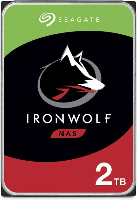 "Seagate IronWolf 3.5"" 2TB NAS HDD"
