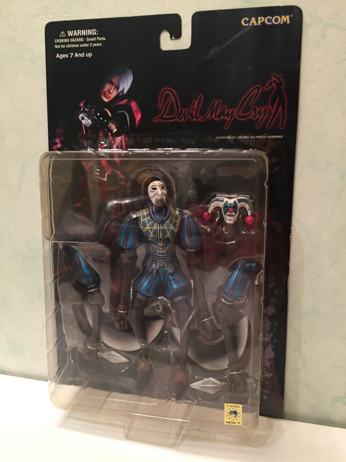Action Figure Devil May Cry Marionette Jester Blau Clown Capcom 2001