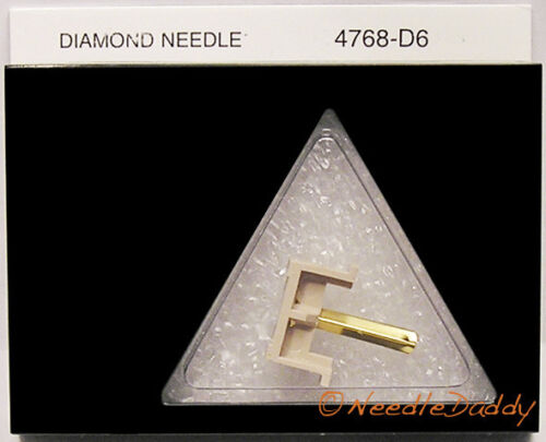 NEW IN BOX TURNTABLE STYLUS NEEDLE for SHURE N70B N72B M70B 4768-D6 768-D6