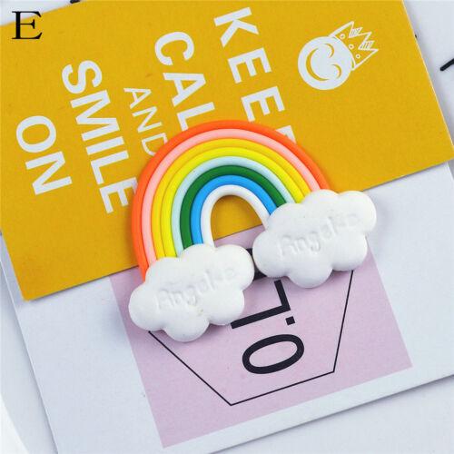 cartoon kids rainbow fridge magnets souvenirs refrigerator magnetic sticker FO