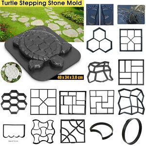 Path-Garden-Floor-Mould-DIY-Walkway-Maker-Garden-Lawn-Concrete-Mold-Paving-Tool
