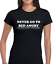 NEVER GO TO BED ANGRY LADIES T SHIRT TEE FUNNY QUOTE MEME EMOJI JOKE DESIGN TOP