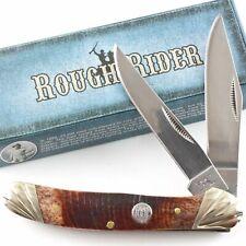 Rough Rider EASY MONEY HAWKBILL Messer Griff mit geschredderten Dollarnoten