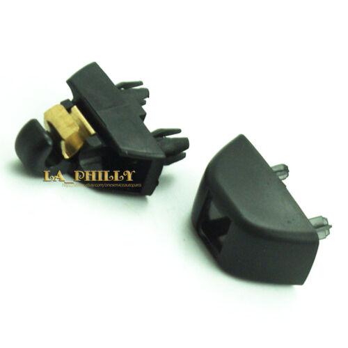 OEM New Black Sun Visor Hook Clip New 4F0857561 For Audi A6 C6