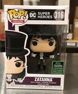 Funko POP! DC - Zatanna (ECCC) Exclusive #316 - New, In Stock