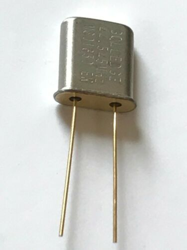 fcb27.51 x1 44.5450 MHz UM-1 MINIATURE GOLLEDGE RF CRYSTAL XTAL