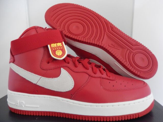 Nike Air Force 1 Hi Retro QS Shoes Nai KE China Mens Size 9.5 743546 ... ad5b779a1