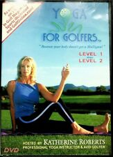 Yoga For Golfers 1 2 Dvd Fitness Workout Exercise Golf Katherine Roberts For Sale Online Ebay