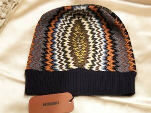 f3abd389c69746 $190 NWT MISSONI MADE IN ITALY MULTICOLOR CHEVRON KNIT WOOL BLEND ...