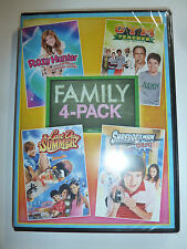 4 family movies DVD Roxy Hunter Mermaid/Last Day of Summer/Shredderman Rules NEW