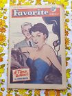 FAVOURITE WEEKLY magazine 13 MARCH 1954 vintage 1950s fashion home Richard Todd