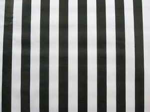 Image Is Loading BLACK WHITE STRIPE CABANA RAIL JAIL REF DINING