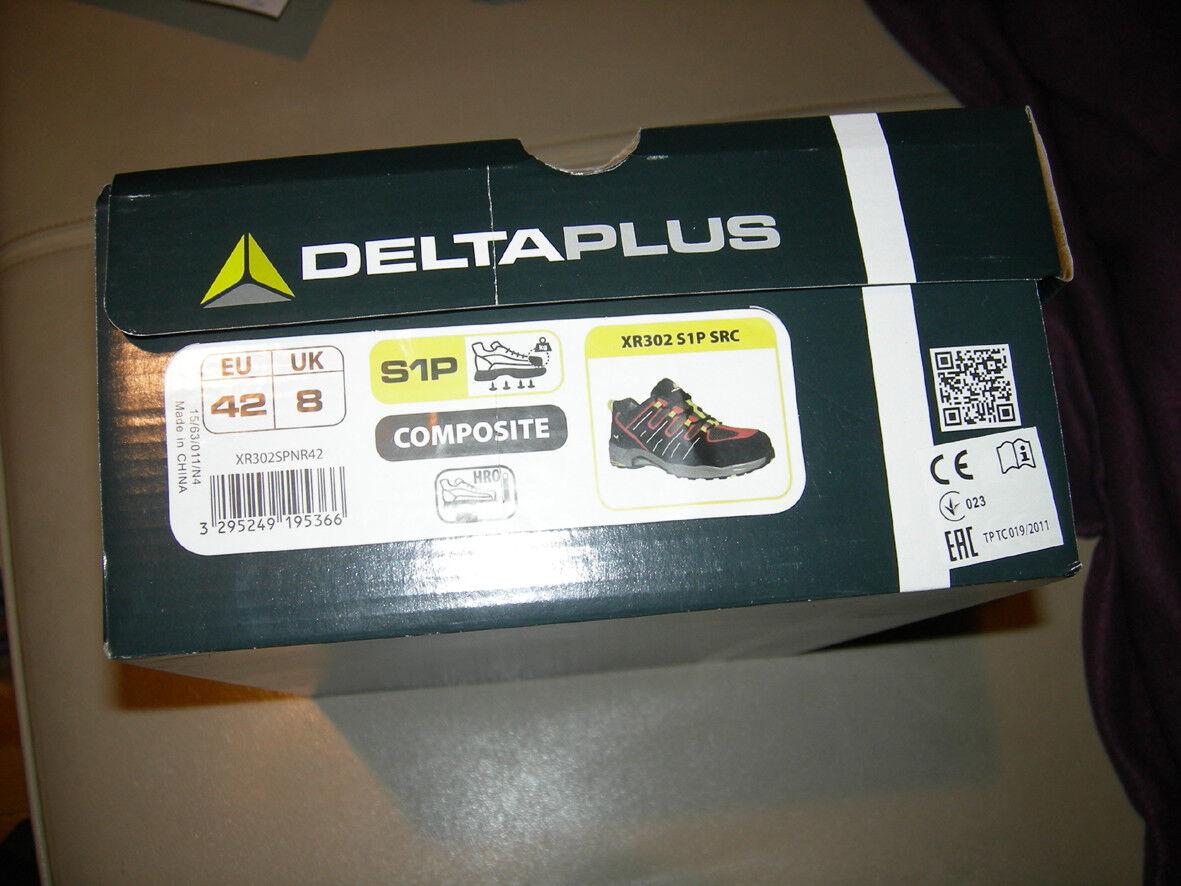 Delta Plus XR302 S1P SRC, schuhe DE SECURITE Größe 42