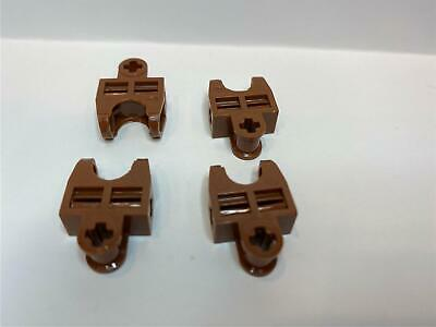 Axle Connector 2 x 3 with Ball Socket LEGO Brown Technic Lot of 2