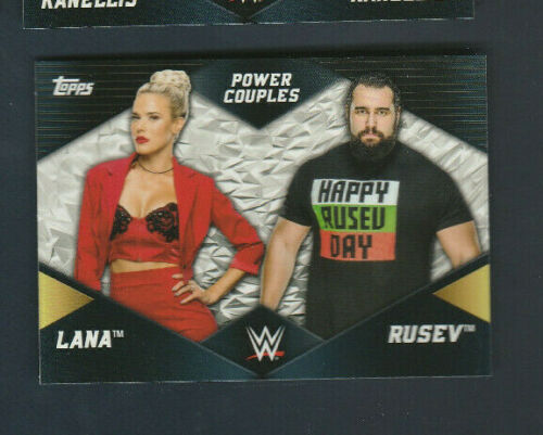 2018 Topps WWE Divas Power Couples Inserts U Pick Multiple Available
