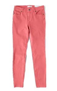 LOFT - Womens 4 (S) 29  Coral Denim Stretch Performance Legging Jeans