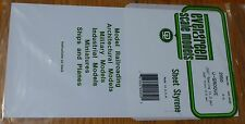 "Evergreen Styrene #2050 / 6 x 12"" Styrene Siding Sheet, V-Groove .020"" Thick --"