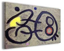 Quadri famosi Joan Mirò vol II Stampa su tela arredo moderno arte design canvas