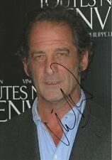Vincent Lindon Autogramm signed 20x30 cm Bild