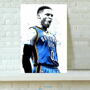 5f2480ca01134 Hd print russell westbrook oil painting home wall decor jpg 300x300 Russell  paint logo