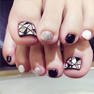 Nail art foot