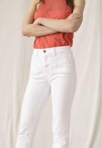 CLOSED-Jeans-IT-42-S-M-PEDAL-STREAM-Hochbund-High-Waist-weis-neu