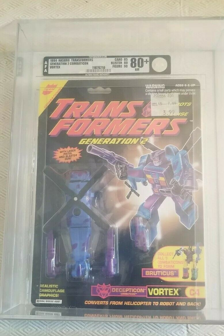 Transformers Generation 2 Vortex (Hasbro 1994) AFA 80+ 85 80 90