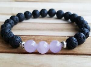 1pcs Multicolor crystal Gemstone bracelet MONK pray spirituality Bless Healing