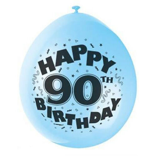Birthday Balloons Age Latex Air Fill Boy//Girl-Kids 7PK