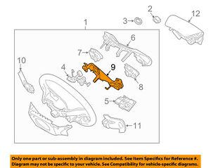 KIA-OEM-14-15-Optima-Steering-Wheel-Remote-Switch-Button-967202T200CA