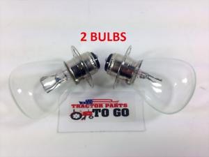 2 ExBrite LED light bulbs Iseki TS1610 TS1910 TS2202 TS2205 12V 35//35W headlight