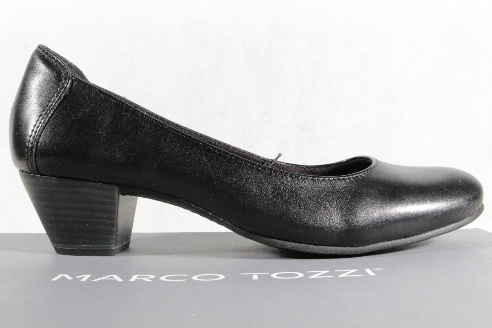 Homme / femme Marco Tozzi Escarpins Ballerines Noir Neuf Économique Économique Économique et pratique confortabilité affaires | Luxuriant Dans La Conception  60ef47