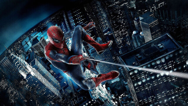 Spider Man Poster High Quality Canvas Home Art Print Kids Painting Unframed